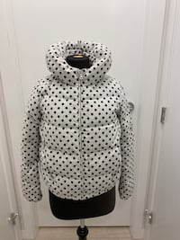 Polka dot down coat S Richmond, V6X 2A2