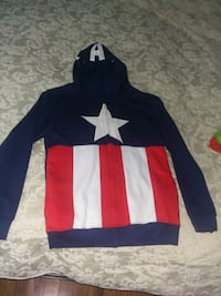 Captain America hoody with mask size S Cambridge, N1T 1K9