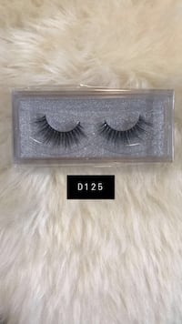 D125 BRAND NEW Mink Lashes Mississauga