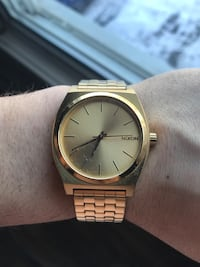 Nixon gold watch Charlemagne, J5Z 1W5
