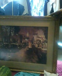 brown wooden framed painting of people Tucson, 85713