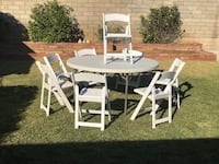Chairs & tables for rent Monterey Park, 91754