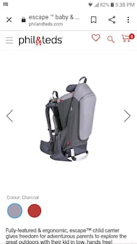 Child Carrier Backpack Guelph
