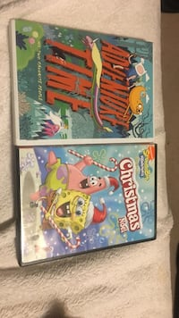2 cartoon dvds