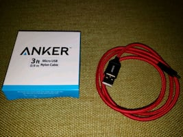 ANKER 3ft Micro USB Charging Cable