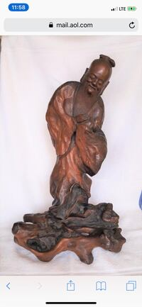 380+ Year Old Antique Mahogany Chinese Carving  Danbury, 06811