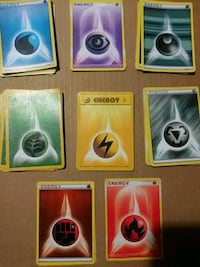 45 Pokemon Energy Cards
