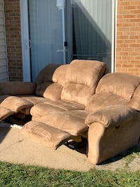 Couch with Recliner and built in massage Edgewood, 21040