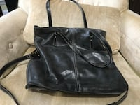 Navy Italian leather bag Leesburg, 20175