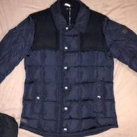 Moncler Mens Jacket Goose Down - Navy Blue Toronto, M1T 2C4