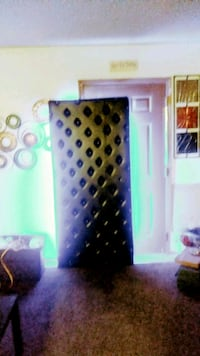 Leather Wall decor with color changing LEDs Wichita, 67213