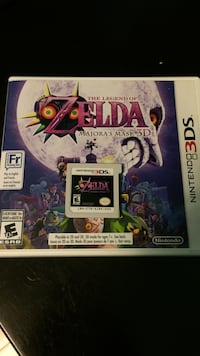 Nintendo 3DS Game Legend of Zelda Majora's Mask Vancouver, V5V