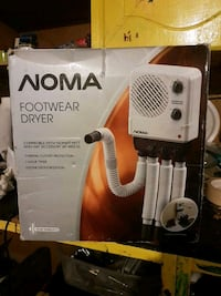 Noma boot dryer (new) Welland, L3C 6J6