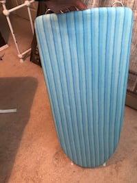 white and blue striped ironing board Garland, 75040