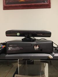 Xbox 360 plus Kinetics Controller and Games