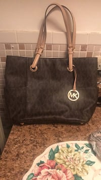 black Michael Kors leather tote bag Baltimore, 21239