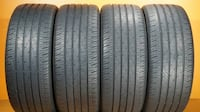 2 OR 4 used tires 235/45/18 CONTINENTAL CONTIPRO CONTACT Tampa, FL, USA