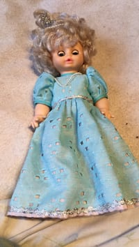 girl in blue dress doll Montreal, H3W 2E7