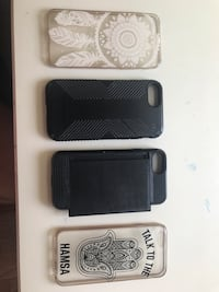 Three black and white smartphone cases Gainesville, 20155