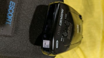 Escort X50 Passport 8500 radar detector with case