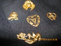 $2 EACH * NEW - SOLID BRASS Stick-On Candle Charms
