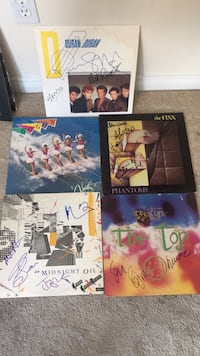 80's signed lp's Los Angeles, 90069