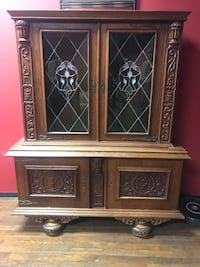 Cabinet with stained glass Marietta, 30066