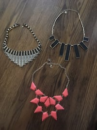 3 Statement Necklaces Toronto, M9N 2G8
