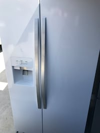 white side-by-side refrigerator Buena Park, 90621