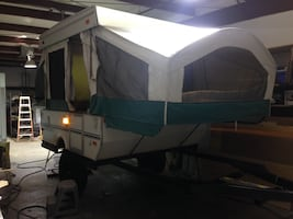 Custom lifted 2005 Viking Epic pop up camper