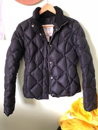 Black zip-up Eddie Bauer puffer Jacket  Edmonton, T6T 1G2