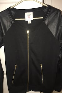 Guess bomber jacket with leather sleeves Vaughan, L6A 0W2