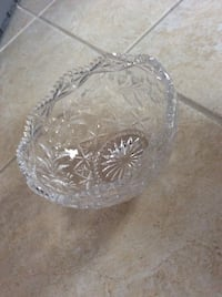Crystal round bowl Centreville, 20121