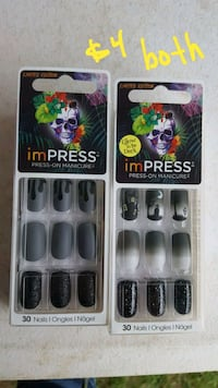 New press on nails  Theodore, 36582