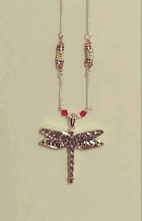 Silver DRAGON FLY necklace Lansdale, 19446