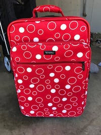 Olimpia small carry on size suit case