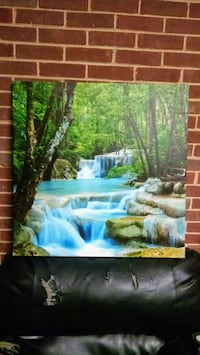 Waterfall canvas painting Columbia, 29210
