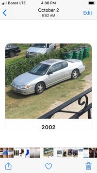 2002 Chevrolet Monte Carlo New Orleans