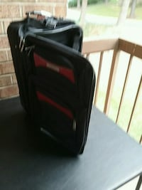 black and red luggage bag Gaithersburg, 20886