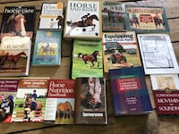 Lot of horse books