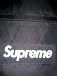 black and white Supreme textile Las Vegas, 89108