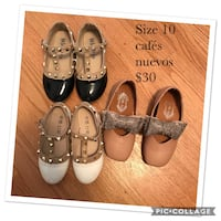 women's three pairs of shoes Chicago, 60652