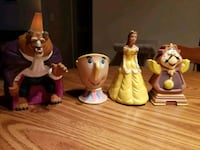 1991 Beauty and the Beast Vintage Burger King Toys Nashville, 37214