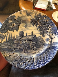 Plates made in England Halethorpe, 21227