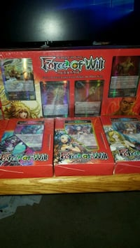 FOW dual decks all sealed.  Force of Will Brambleton, 20148