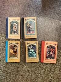 A Series of Unfortunate Events (Books 1, 5, 9, 10 & 12) Lancaster, 93536