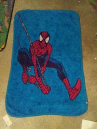 Toddler Spiderman blanket Des Moines, 50320