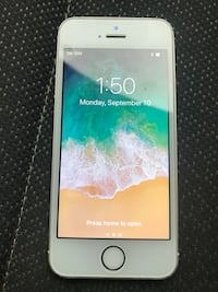 Silver iphone 5s unlocked 16gb London, N5V 2E5