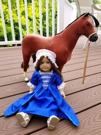 American Girl Doll Felicity and Her Horse Rockville