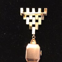 Gold-colored watch pendant Nottingham, 21236